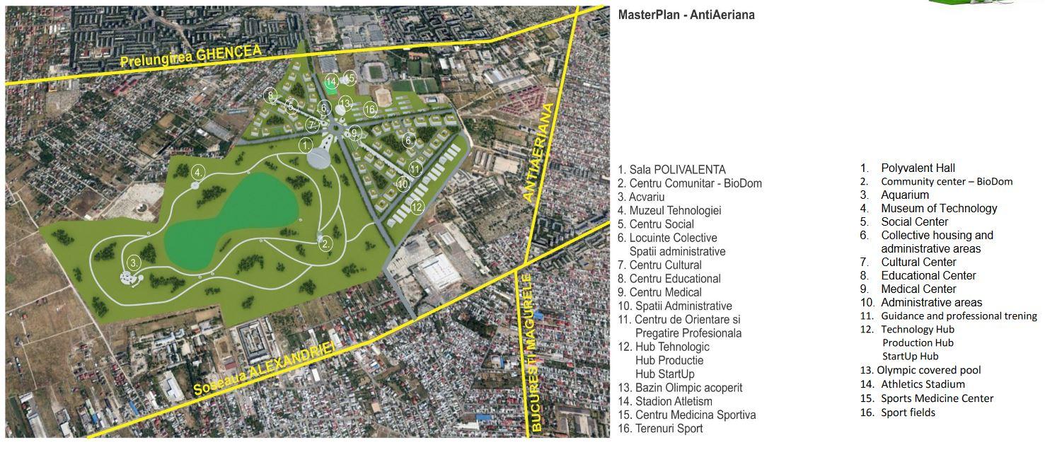 Primăria Sectorului 5 propune un proiect pentru dezvoltarea celui mai mare teren liber din București