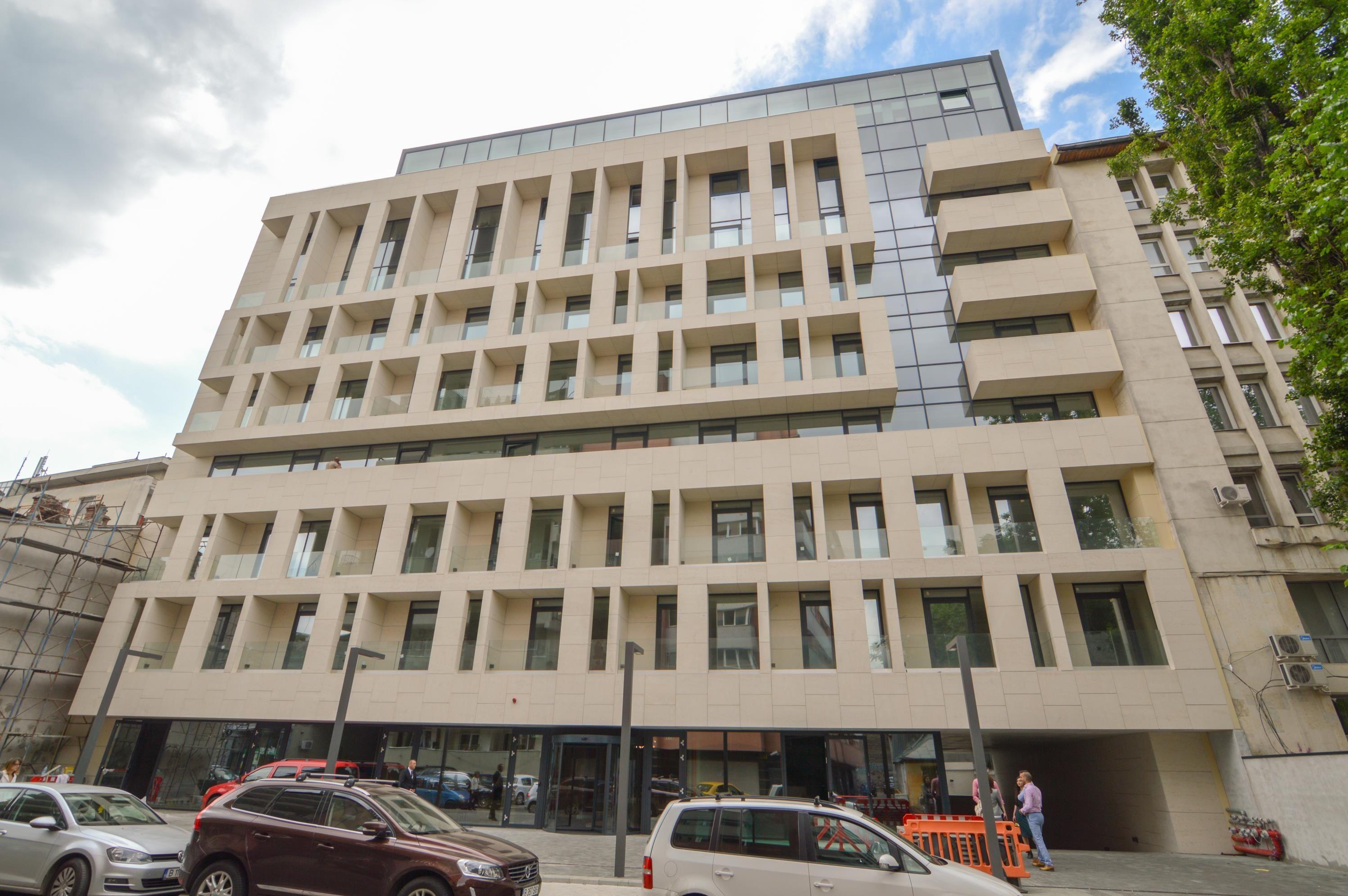 Clădirea boutique Eminescu Office este finalizată și mai are câteva spații libere