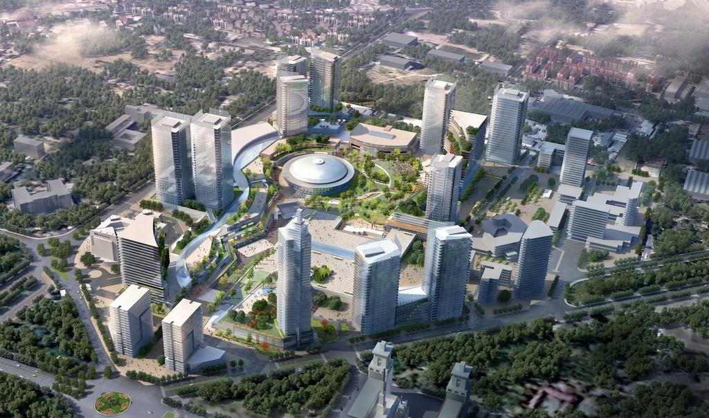 Cum va arăta proiectul Iulius Romexpo, cel mai mare parc de business din București